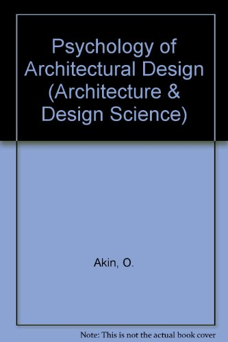9780850861204: Psychology of Architectural Design (Architecture & Design Science)