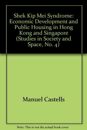 9780850861358: Shek Kip Mei Syndrome: Economic Development and Public Housing in Hong Kong and Singapore (Studies in Society and Space, No. 4)