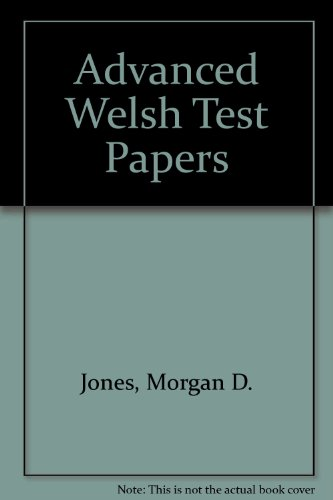9780850882933: Advanced Welsh Test Papers