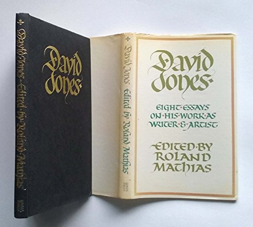 9780850883725: David Jones