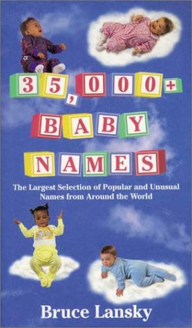 9780850917345: 35, 000 Baby Names