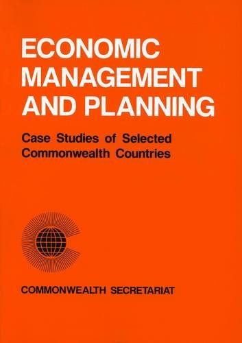 9780850924077: Economic Management and Planning: Case Studies of Selected Commonwealth Countries