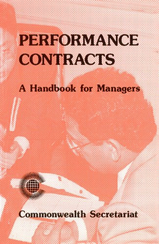 9780850924381: Performance Contracts: A Handbook for Managers