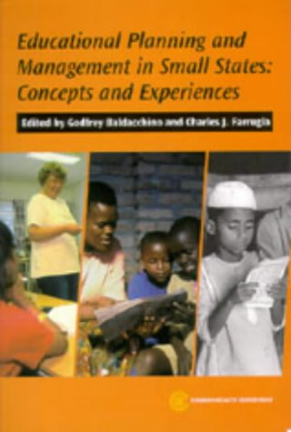 9780850927290: Educational Planning and Management in Small States: Concepts and Experiences (Challenge of Scale Series)