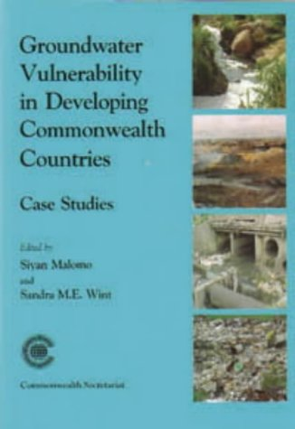 9780850927610: Groundwater Vulnerability in Developing Commonwealth Countries: Case Studies