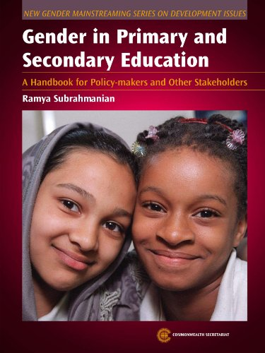 9780850928648: Gender in Primary and Secondary Education: A Handbook for Policy-Makers and Other Stakeholders (New Gender Mainstreaming in Development Series)