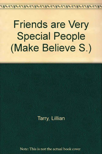 9780850931112: Friends are Very Special People (Make Believe)