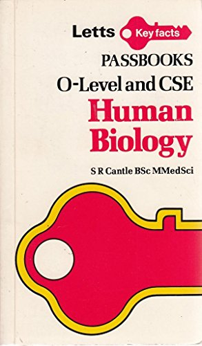 Human Biology: Ordinary Level Passbook (Key Facts): Cantle, S.R.