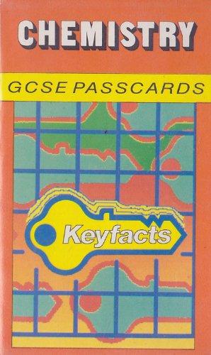 9780850977950: Chemistry: G.C.S.E.Passcards (Key Facts)