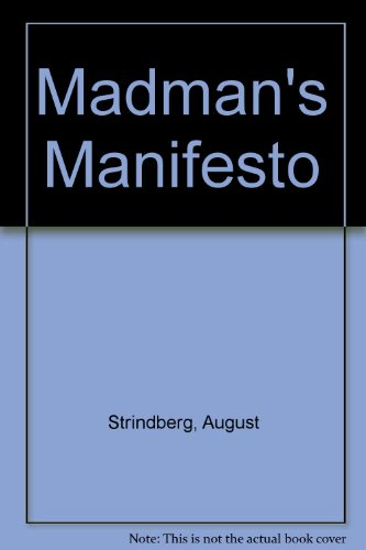 9780850980011: Madman's Manifesto