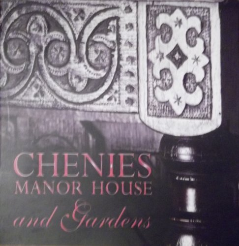 9780851013695: Chenies Manor House and Gardens