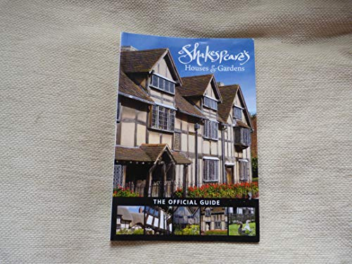 9780851014395: Shakespeare's Houses & Gardens: The Official Guide
