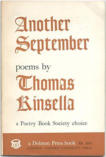 Another September: Kinsella, Thomas