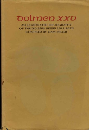 9780851053097: Illustrated Bibliography of the Dolmen Press, 1951-76