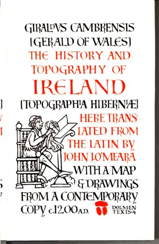 9780851053110: History and Topography of Ireland (Dolmen Texts)