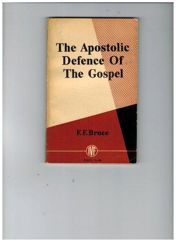 9780851103068: Apostolic Defence of the Gospel (Pocket Books)