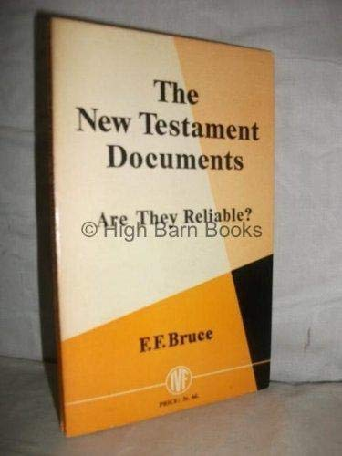 9780851103075: The New Testament Documents (Pocketbooks)
