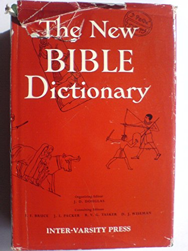 9780851106083: The New Bible Dictionary