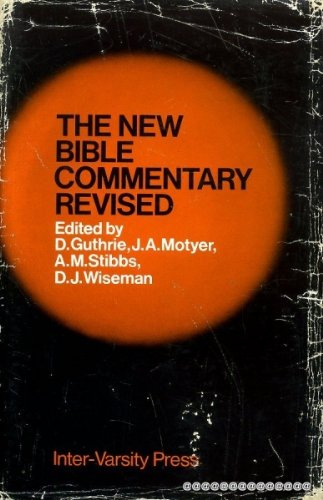 9780851106151: The New Bible Commentary Revised