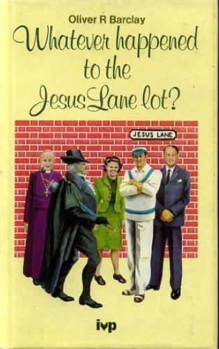 9780851106243: Whatever Happened to the Jesus Lane Lot?