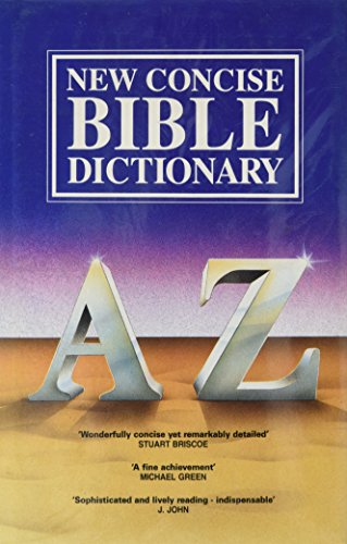 9780851106410: New Concise Bible Dictionary: A - Z