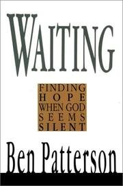 9780851108513: Waiting: Finding Hope When God Seems Silent