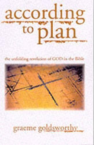 9780851109558: According To Plan