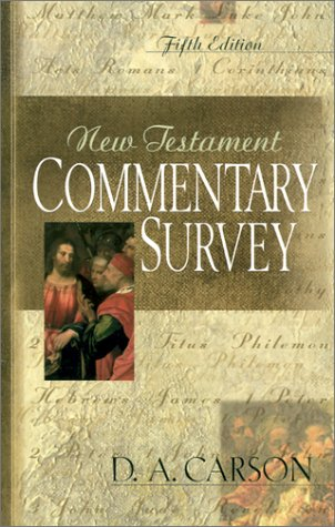 9780851111964: New Testament Commentary Survey