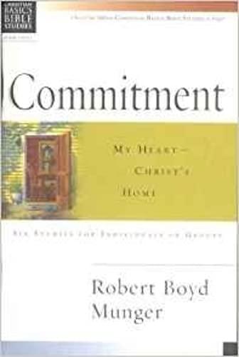 9780851113418: Commitment (Christian Basics Bible Studies)