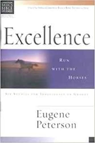 9780851113777: Excellence: Run with the Horses (Christian Basics Bible Studies)