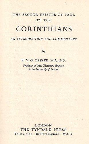 9780851116037: II Corinthians (Tyndale New Testament Commentaries)