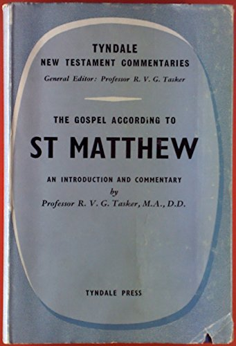 9780851116112: Matthew: An Introduction and Commentary (Tyndale New Testament Commentaries)