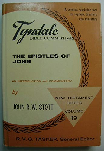 9780851116150: Epistles of John (Tyndale New Testament Commentaries)