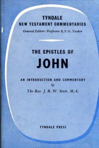 9780851116150: Epistles of John (Tyndale New Testament Commentaries)