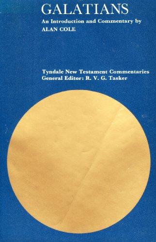 9780851116167: Galatians (Tyndale New Testament Commentaries)