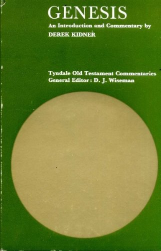 9780851116211: Genesis (Tyndale Old Testament Commentary Series)