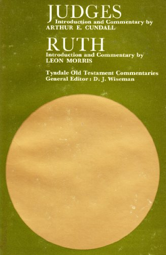 9780851116228: Judges and Ruth (Tyndale Old Testament Commentary Series)