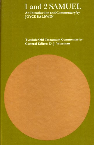 9780851116402: Samuel I and II (Tyndale Old Testament Commentary)