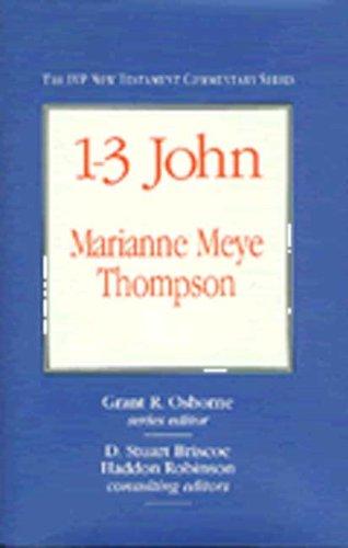9780851116716: 1-3 John (Tyndale New Testament Commentaries)