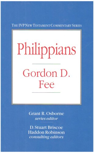 9780851116846: Philippians (IVP New Testament Commentary)