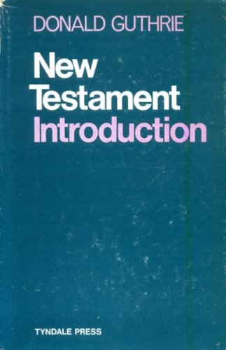 9780851117256: NEW TESTAMENT INTRODUCTION