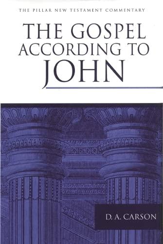 9780851117492: Gospel According to John (Pillar commentaries)