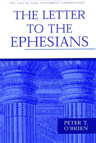 9780851117591: Letter to the Ephesians (Pillar New Testament Commentary Series)