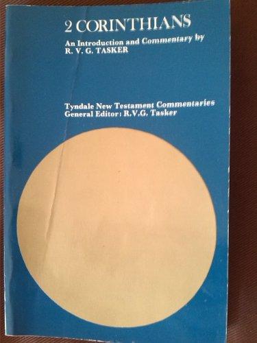 2 Corinthians. Tyndale Commentary: Tasker RVG