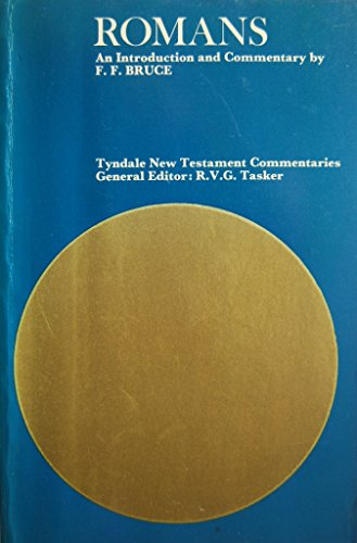 9780851118154: Epistle of Paul to the Romans: An Introduction and Commentary (Tyndale New Testament Commentaries)