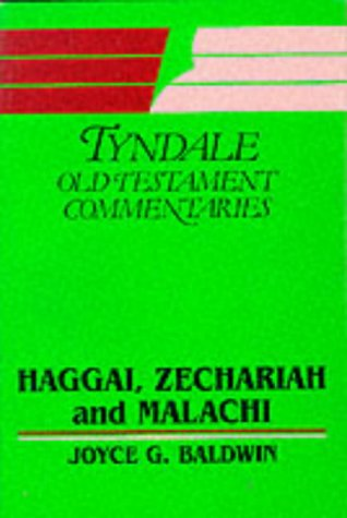 9780851118253: Haggai, Zechariah and Malachi (Tyndale Old Testament Commentary Series)