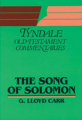 "9780851118390: ""Song of Solomon"": An Introduction and Commentary (Tyndale Old Testament Commentary Series)"