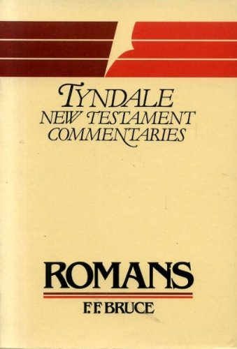 9780851118550: Epistle of Paul to the Romans: An Introduction and Commentary (Tyndale New Testament Commentaries)