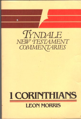 9780851118567: First Epistle of Paul to the Corinthians: An Introduction and Commentary (Tyndale New Testament Commentaries)