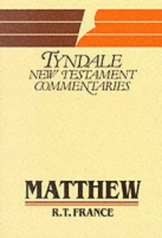 9780851118703: Gospel According to Matthew: Introduction and Commentary (Tyndale New Testament Commentaries)